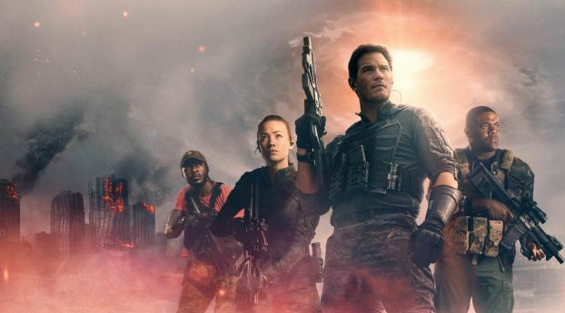 The tomorrow war Best Action Movies in Hollywood