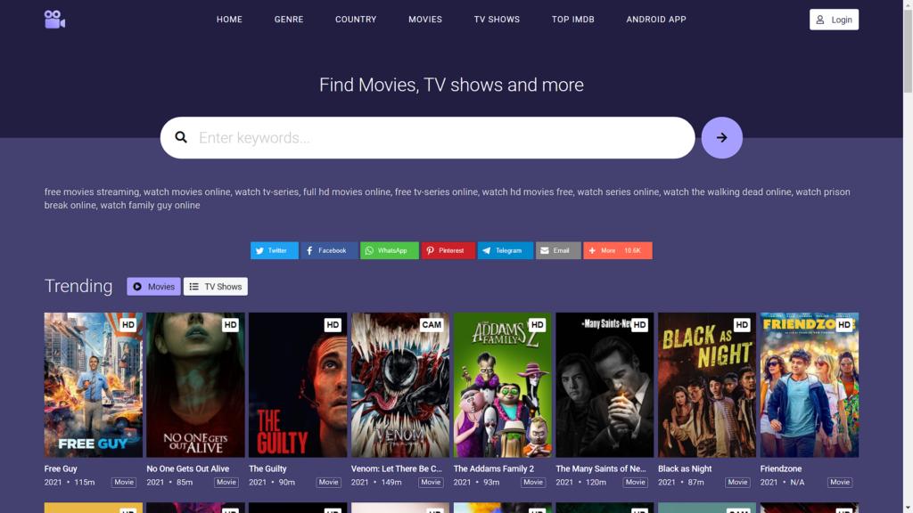 12 Best Free Movie & TV Show Streaming Sites in 2022 MoviesJoy